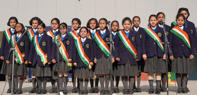 ' Heartians salute the Tricolor with pride'