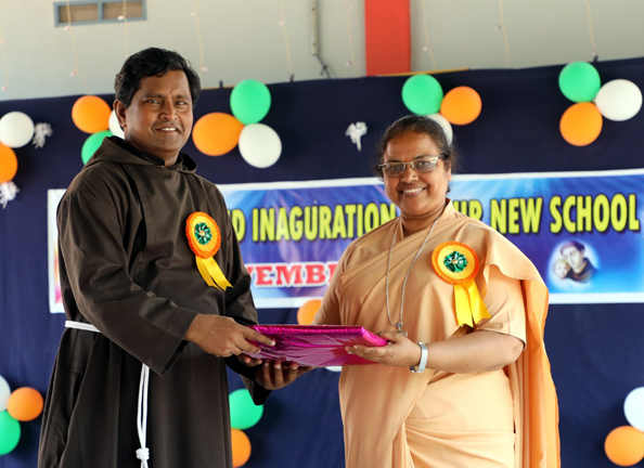 Blessing and inauguration of St. Anthony's Convent School, Avuttapalli, Andhra Pradesh